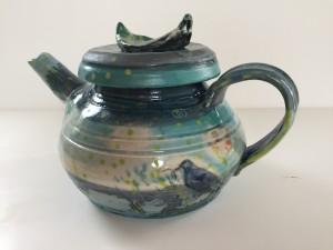 bluebird teapot