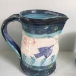 Bluebird pitcher
